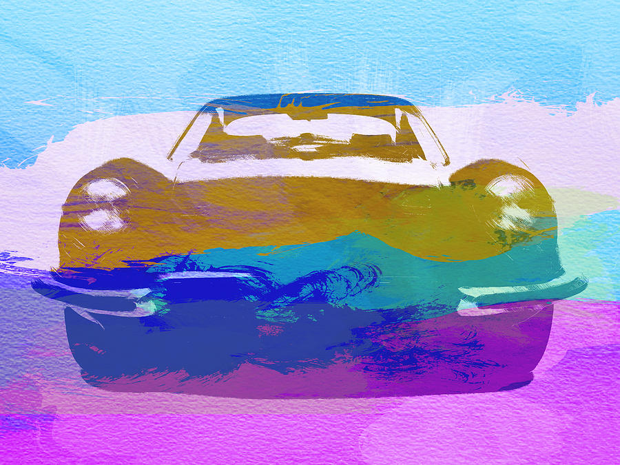 Jaguar E Type Front Painting