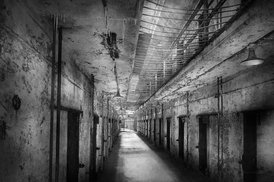 Jail Photograph - Jail - Eastern State Penitentiary - The Forgotten Ones  by Mike Savad
