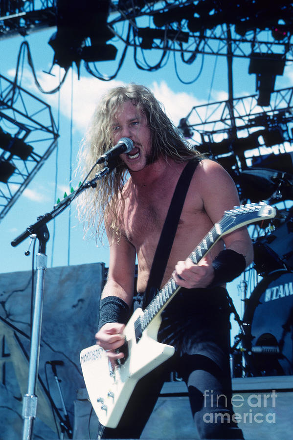 James Hetfield  Photograph