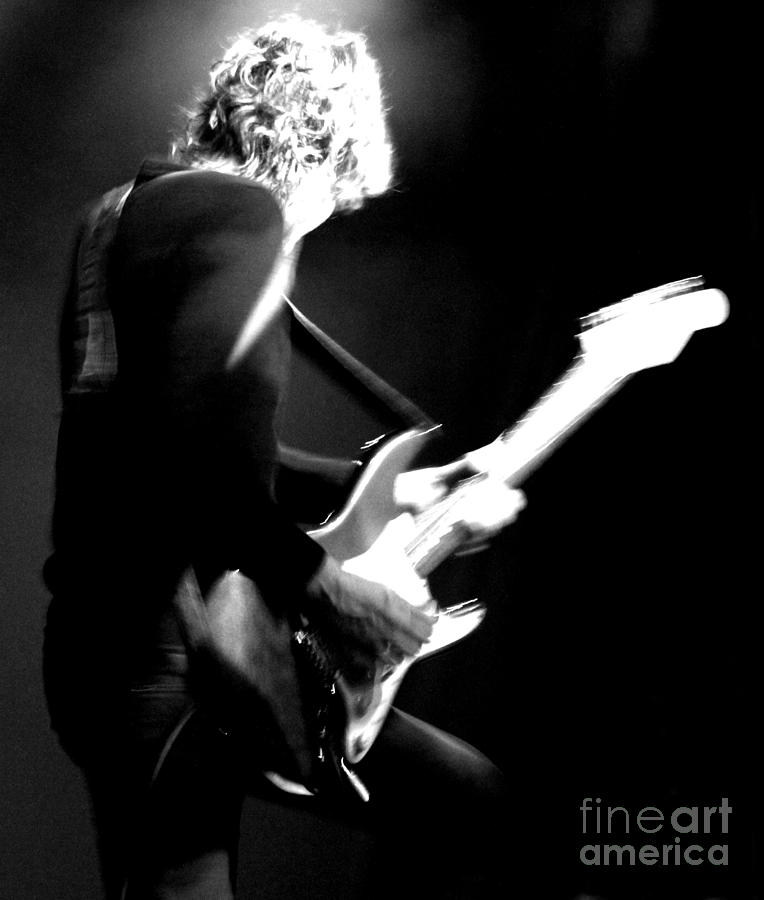 Jamie West-oram - The Fixx - Guitar  Photograph