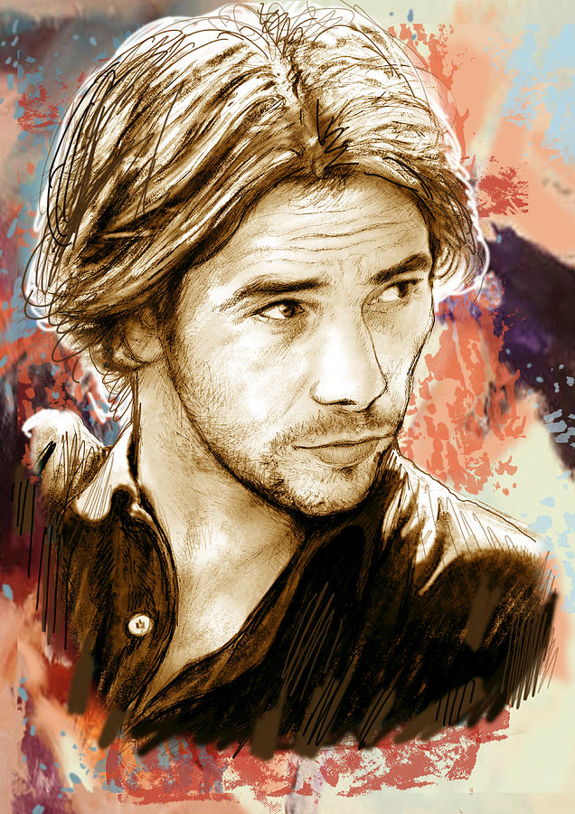 Jamiroquai - Stylised Pop Art Drawing Potrait Poser Stylised Pop Art Drawing Potrait Poser Drawing  - Jamiroquai - Stylised Pop Art Drawing Potrait Poser Stylised Pop Art Drawing Potrait Poser Fine Art Print