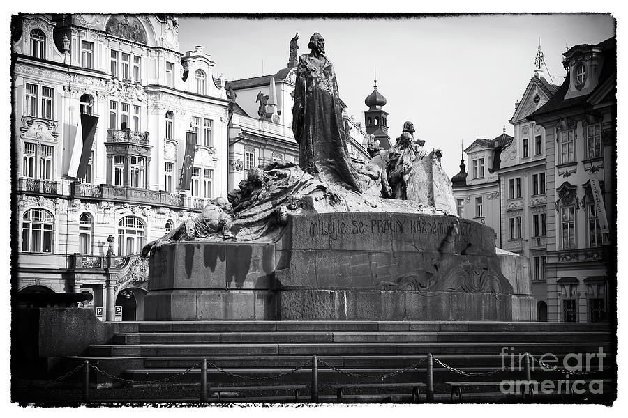 Jan Hus Photograph  - Jan Hus Fine Art Print