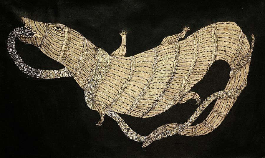 Jangarhs Dragon Painting