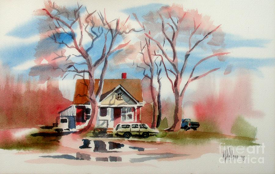Rainy Painting - January Afternoon by Kip DeVore