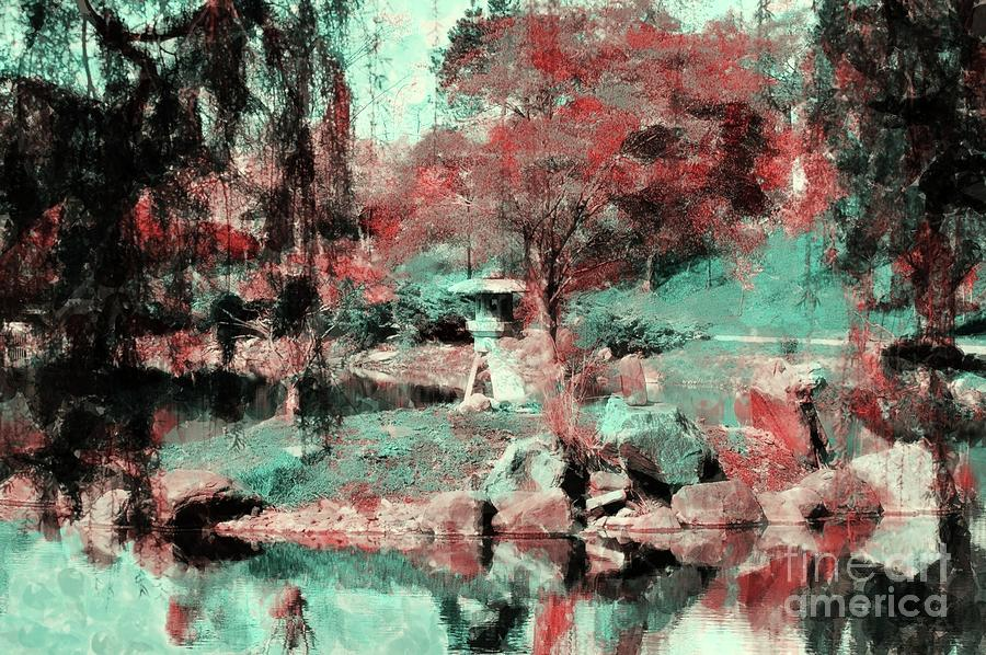 Japanese Photograph - Japanese Gardens by Kathleen Struckle