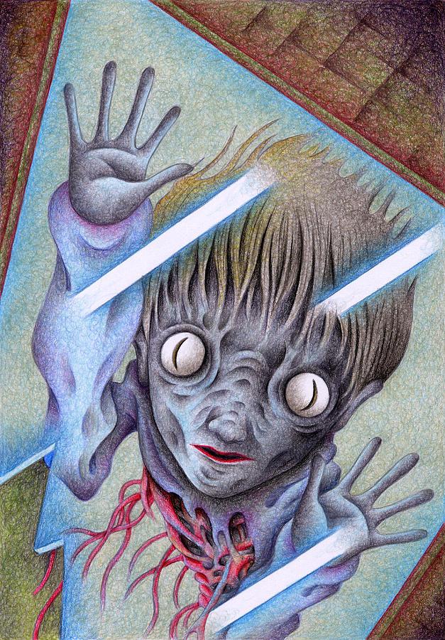 Japanese Horror Drawings