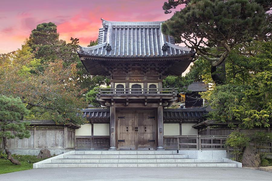 Japanese tea garden entrance photograph by jpldesigns for Japanese garden entrance