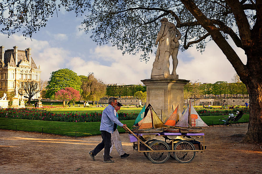 Jardin du luxembourg photograph by maria angelica maira for Jardin 3 marias
