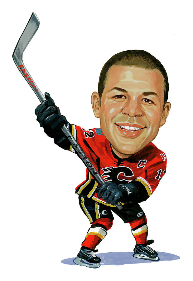 Jarome Iginla Painting