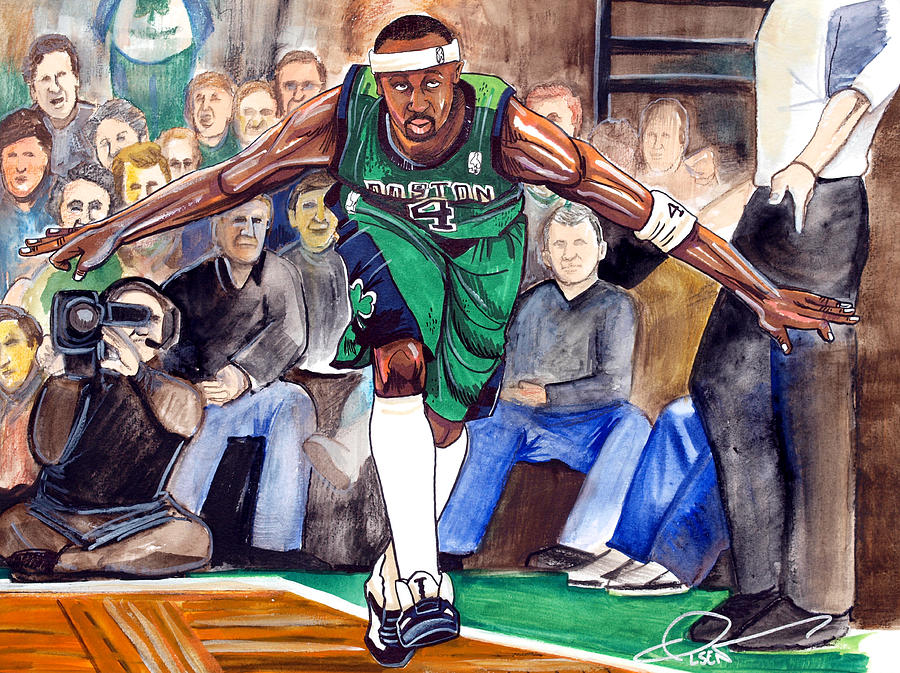Jason Terry Painting  - Jason Terry Fine Art Print