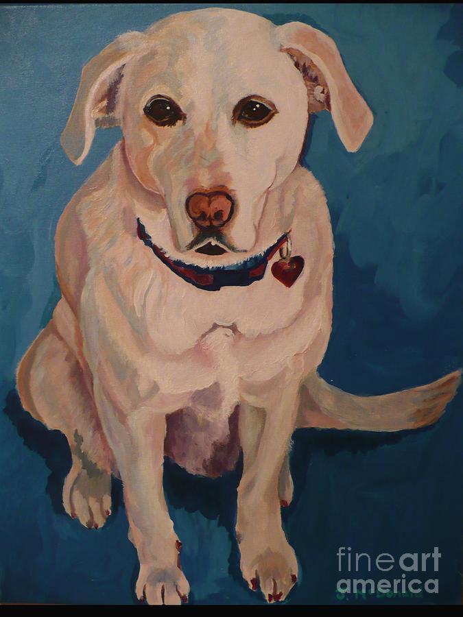 Painting - Jasper by Janet McDonald