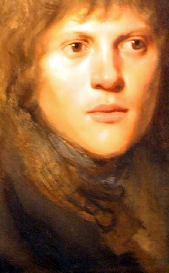 Jay Lievens Self Portrait Up Close Photograph