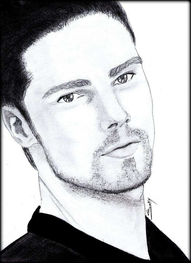 Jay Ryan - Beauty And The Beast Painting