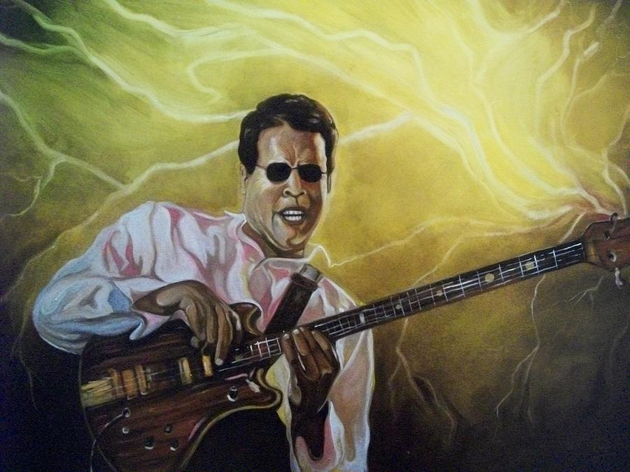 Emery Franklin Painting - Jazz by Emery Franklin