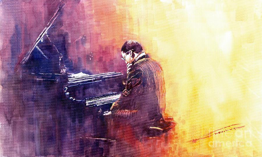 Jazz Herbie Hancock  Painting