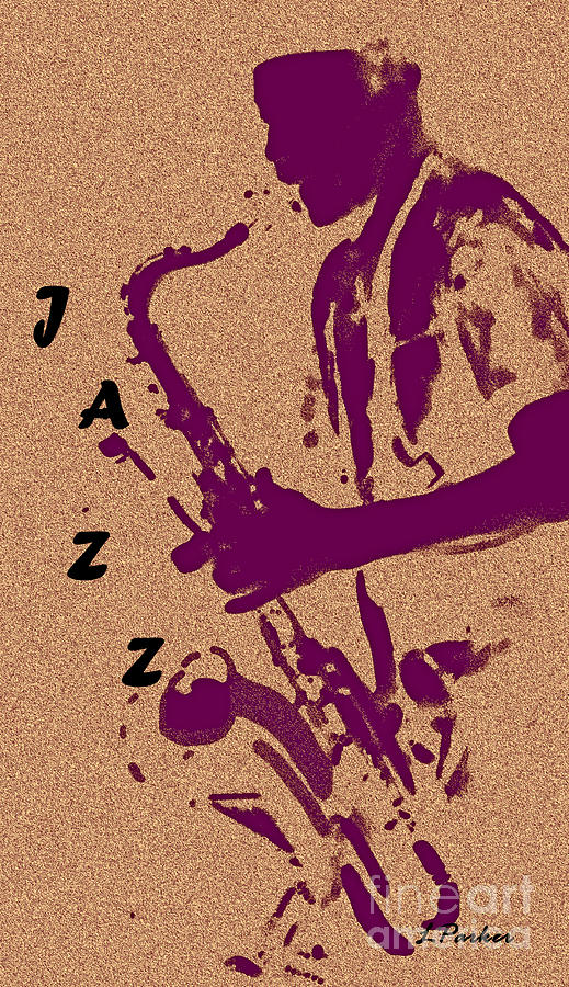 Music Photograph - Jazz Man by Linda  Parker