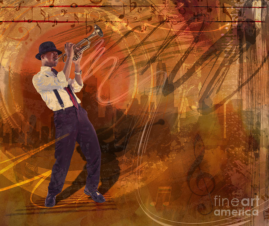Jazz Nrg Digital Art