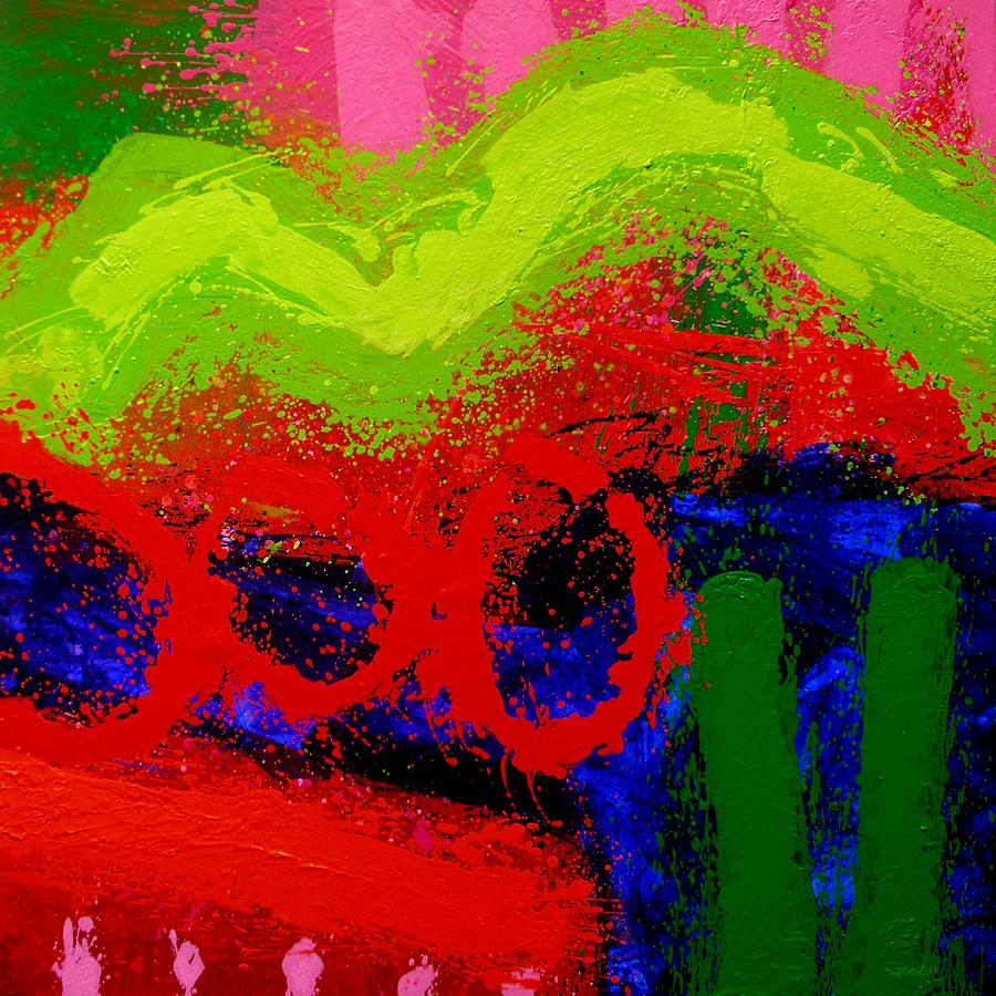 Modern Painting - Jazz Process I by John  Nolan