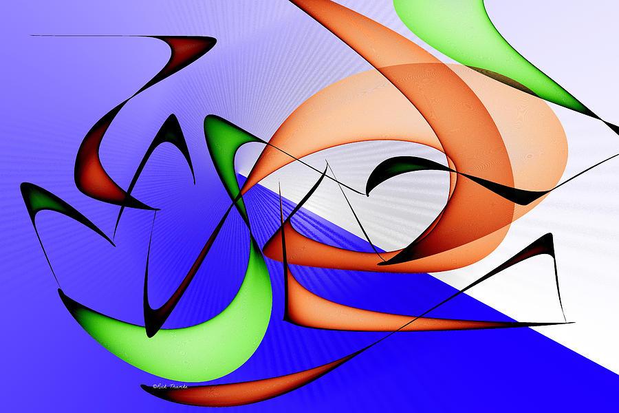 Digital Digital Art - Jazz by Rick Thiemke