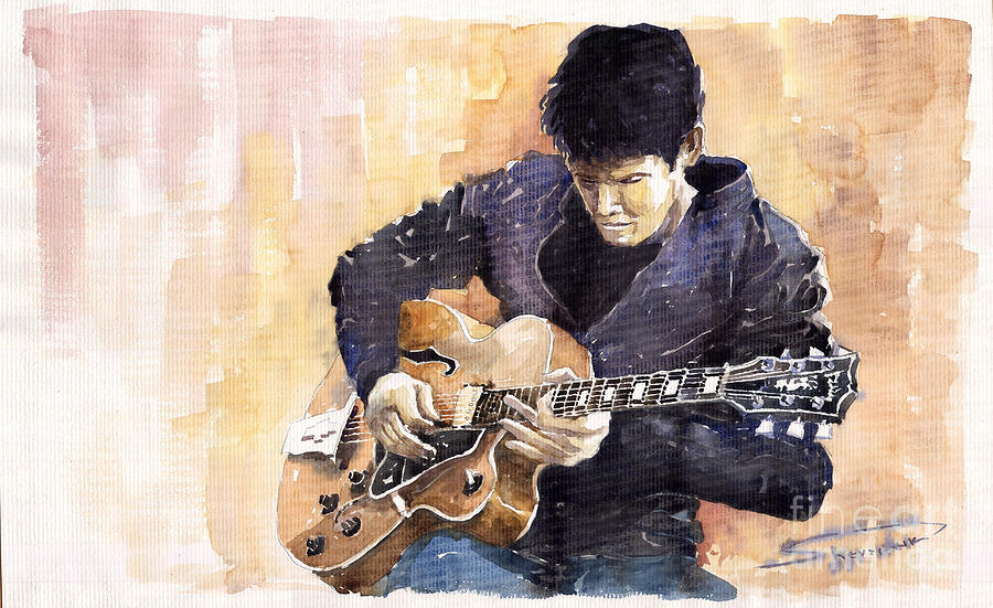 Jazz Rock John Mayer 02 Painting