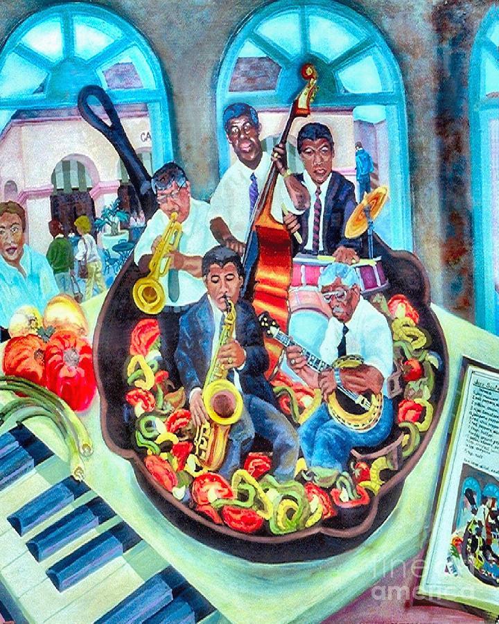 Jazz Saute Painting