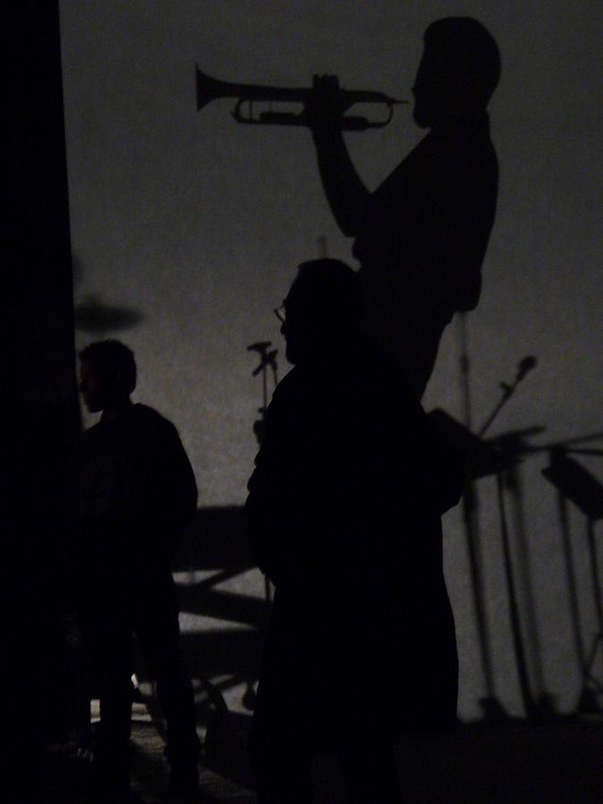 Jazz Photograph - Jazz Shadows by Bill Mock