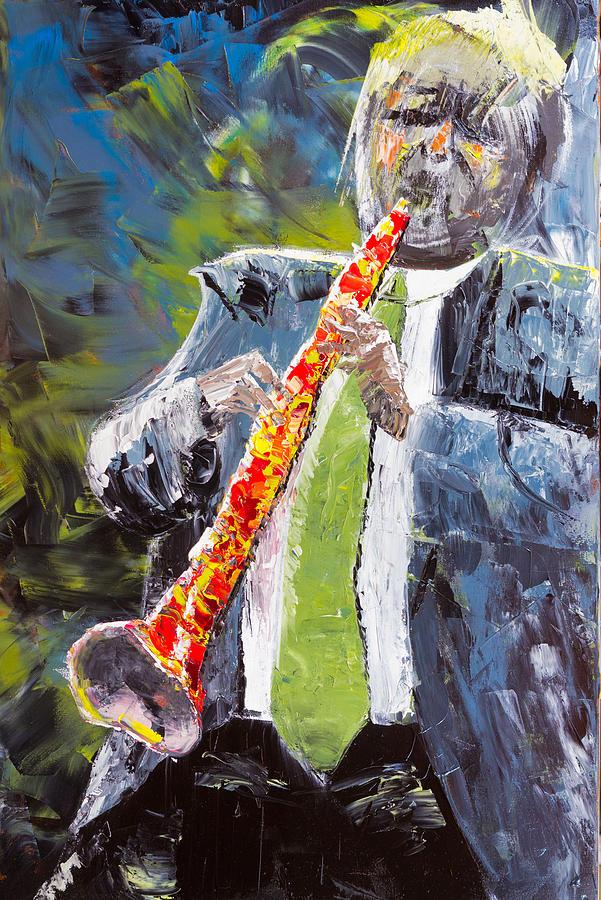 Jazzmen Xi Painting
