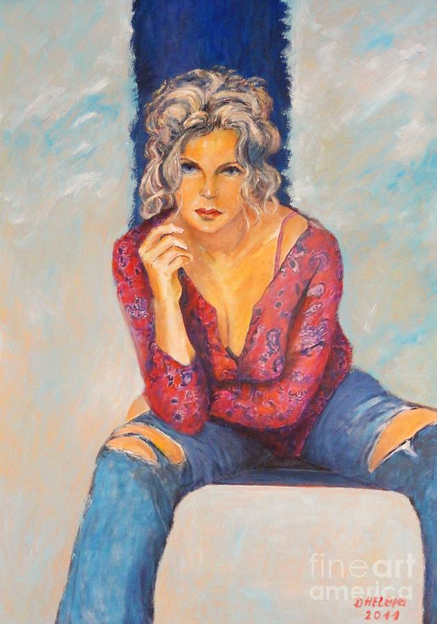 Jeans II Painting