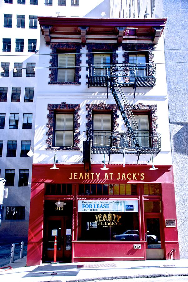 Jeanty At Jack's by Eric Tressler