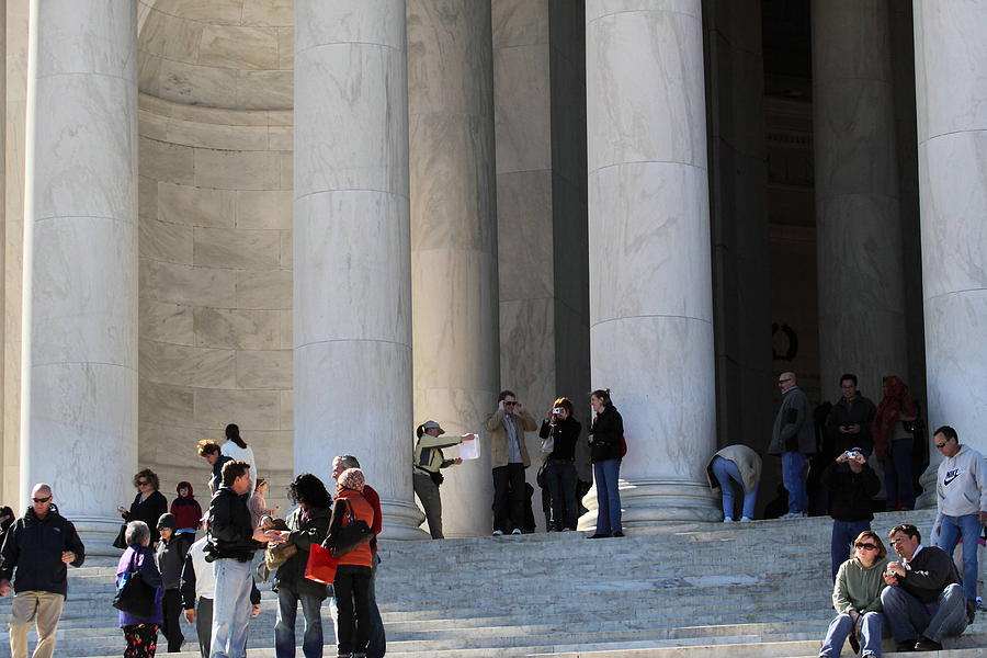 Jefferson Memorial - Washington Dc - 01132 Photograph