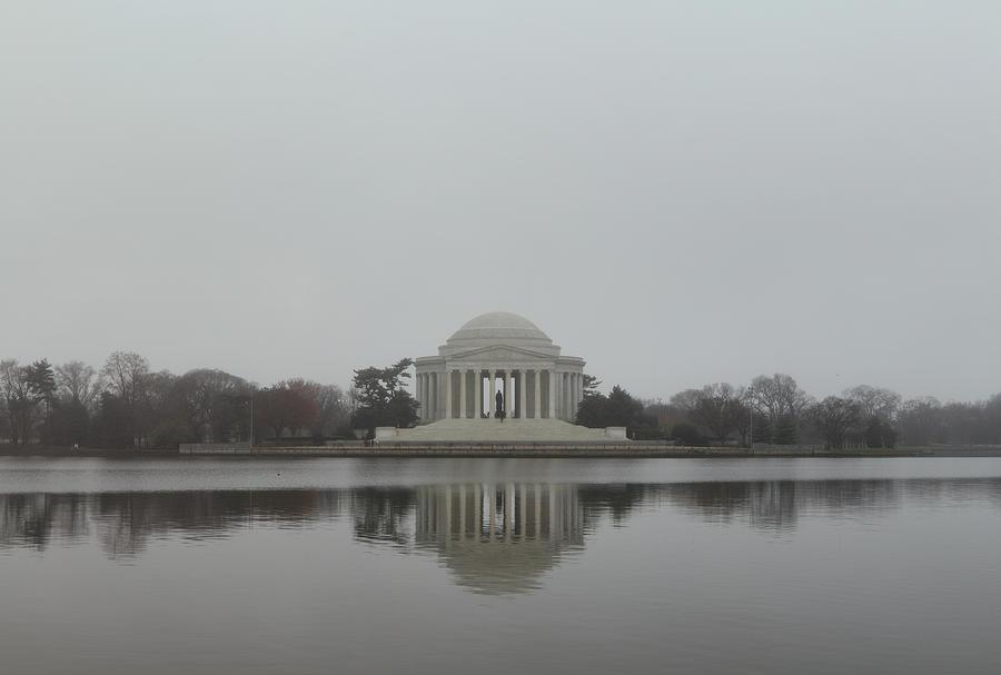 America Photograph - Jefferson Memorial - Washington Dc - 01136 by DC Photographer