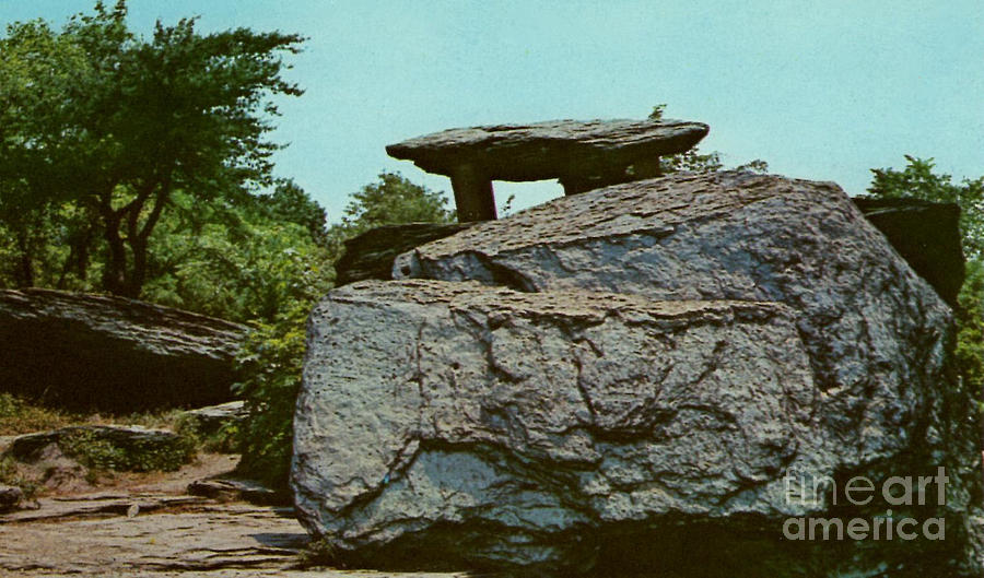 Jefferson Rock Photograph