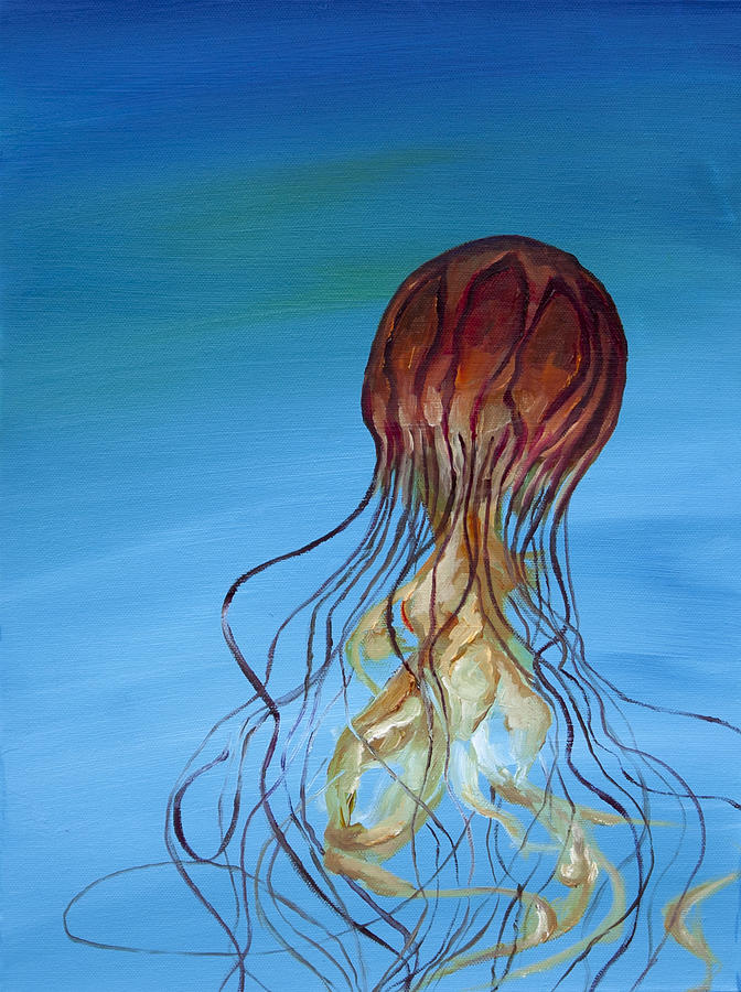 Jelly Painting  - Jelly Fine Art Print