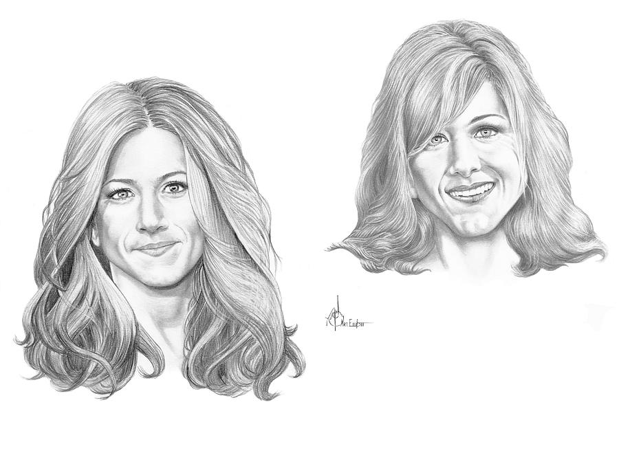 Jennifer-jennifer-aniston Drawing