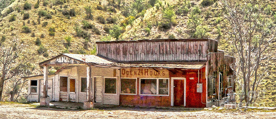 Jerome Arizona - General Store Photograph  - Jerome Arizona - General Store Fine Art Print