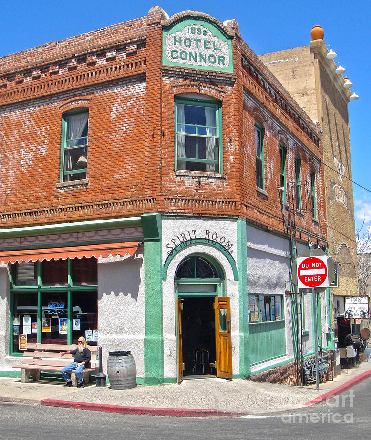Jerome Arizona - Hotel Conner - 02 Photograph  - Jerome Arizona - Hotel Conner - 02 Fine Art Print