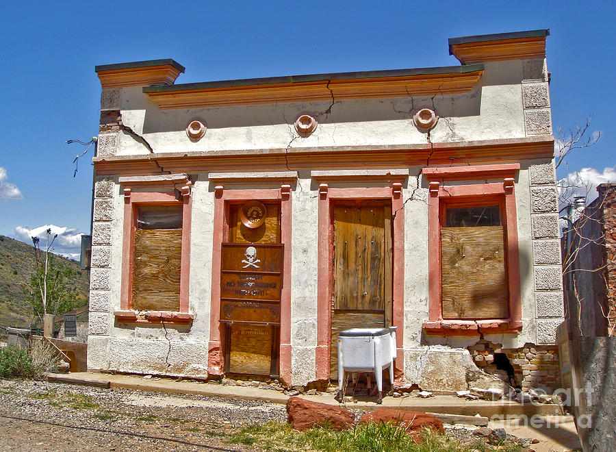 Jerome Arizona Photograph - Jerome Arizona - Miner Shack by Gregory Dyer
