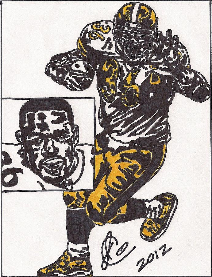 Jerome Bettis Drawing