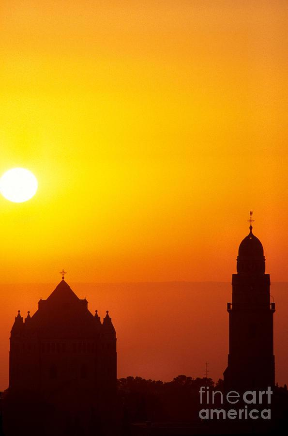 Jerusalem Sunrise Photograph