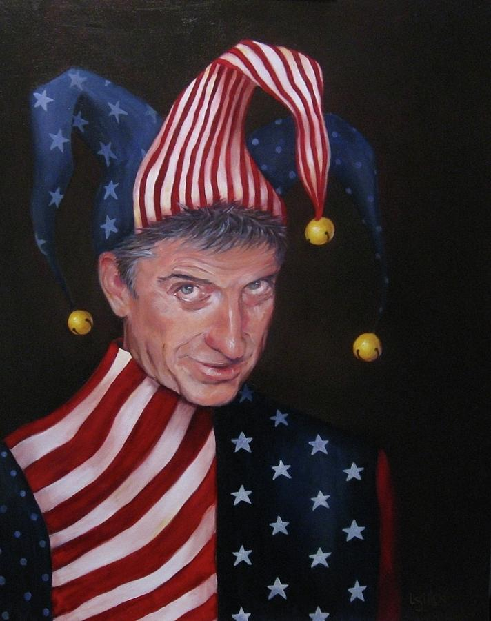 Jester Painting - Jesters Do Oft Prove Prophets by Lorraine Ulen