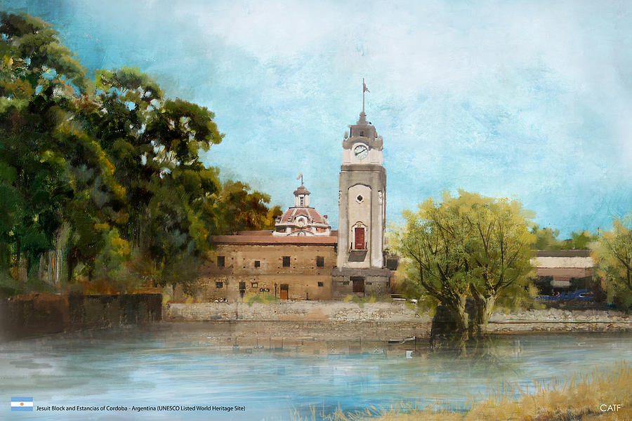 Museum Painting - Jesuit Block And Estancias Of Cordoba by Catf