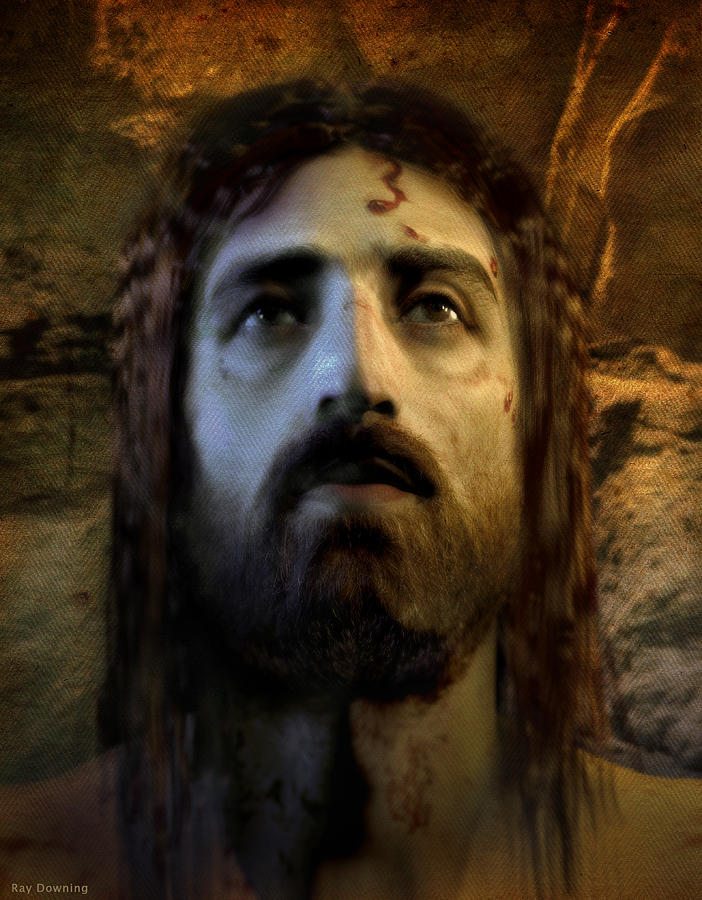 Jesus Alive Again Digital Art