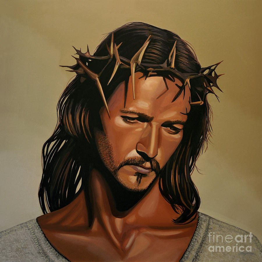 Jesus Christ Painting - Jesus Christ Superstar by Paul Meijering