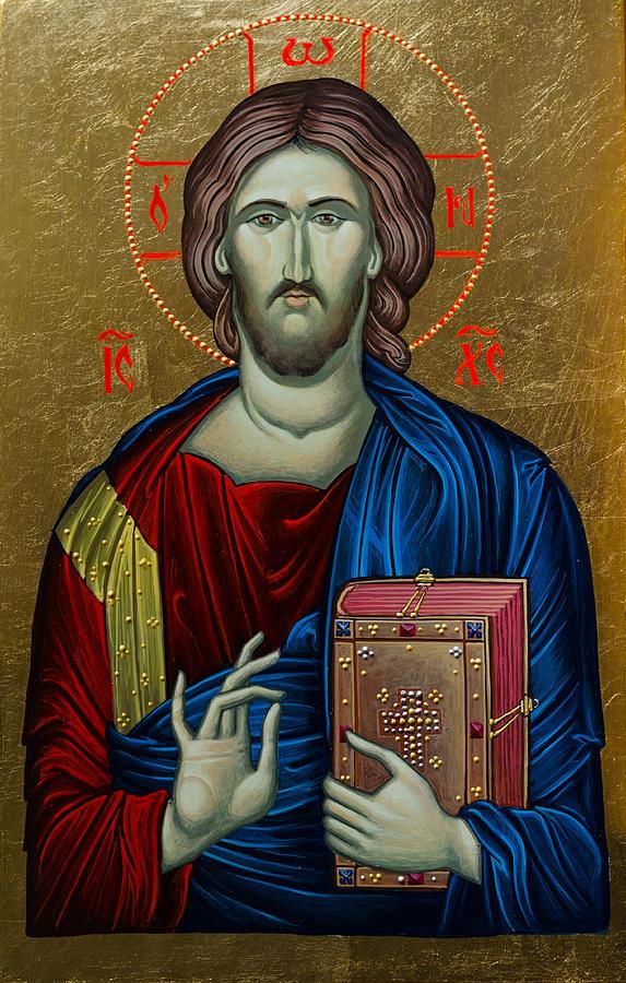 Virgin Painting - Jesus Christ by Claud Religious Art