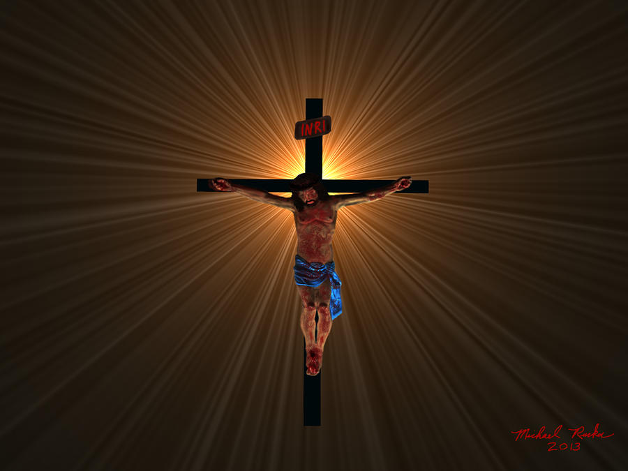 Jesus Christ Digital Art  - Jesus Christ Fine Art Print