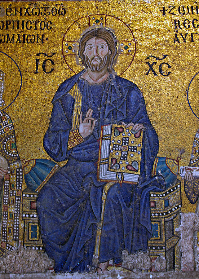 Jesus Christ Mosaic Photograph