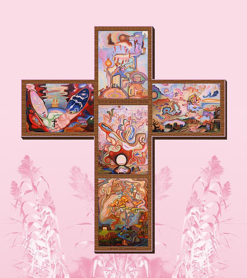Jesus Of Advent P P M Painting