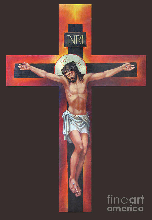 Jesus On The Cross Digital Art