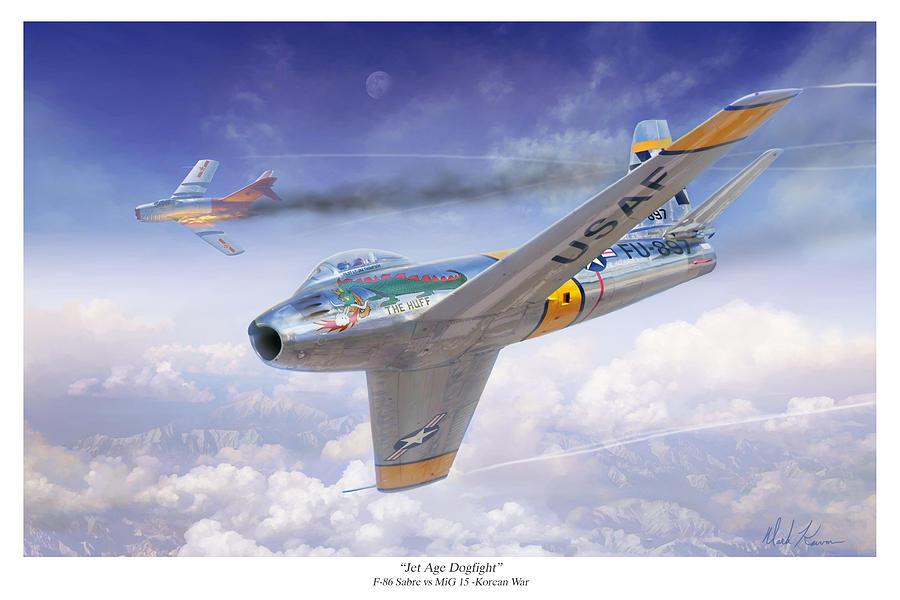 Korean War Jet Fighters MiG15 vs Sabre F86 Which Was