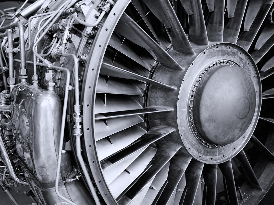 Jet Engine Photograph
